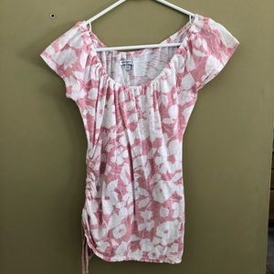 American Eagle pink top XS